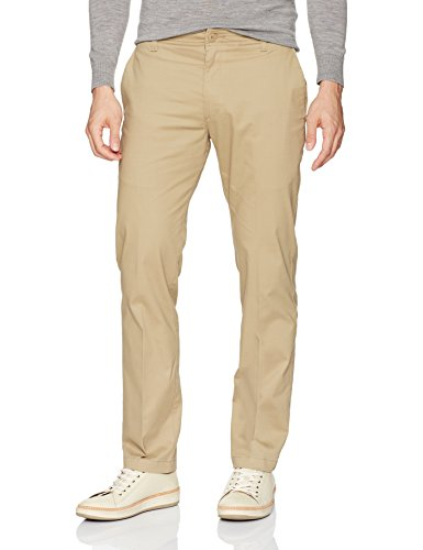 LEE Men's Performance Series Extreme Comfort Slim Pant, Taupe, 29W x 30L