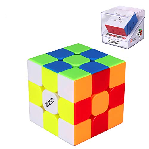 LiangCuber Qiyi MS Series Magnetic 3x3 Speed Cube Puzzle Stickerless Qiyi MS 3x3x3 Cube Magic (2020 Newest Version)