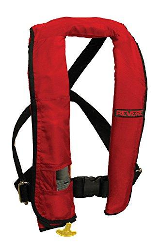 - Revere ComfortMax Inflatable PFD Auto Vest, Red