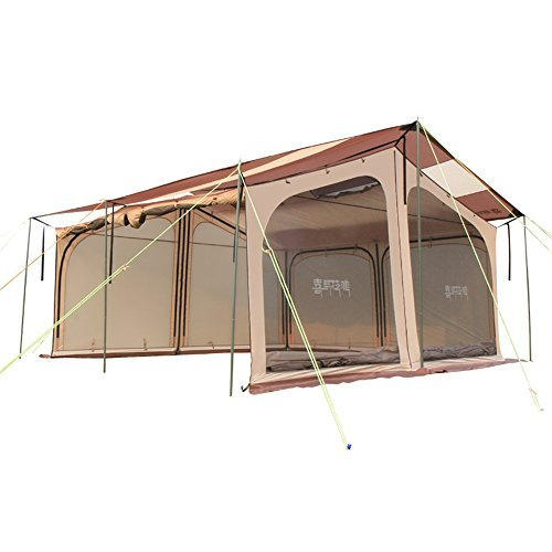 HIMALAYA Family Camping Tent Outdoor Oversized Multiplayer Traveling by car All Seasons for Camping & Hiking , Trekking