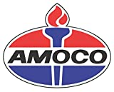 "Amoco Oil Historic Vintage 8"" Wide Decal, Petroleum, Gasoline"