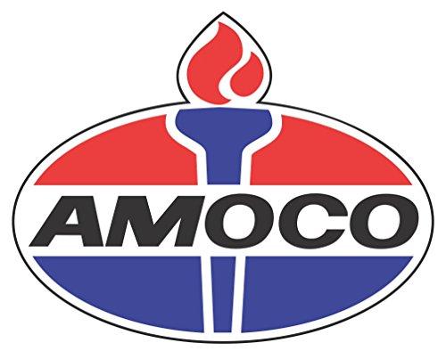 "Amoco Oil Historic Vintage 8"" Wide Decal, Petroleum, Gasoline"