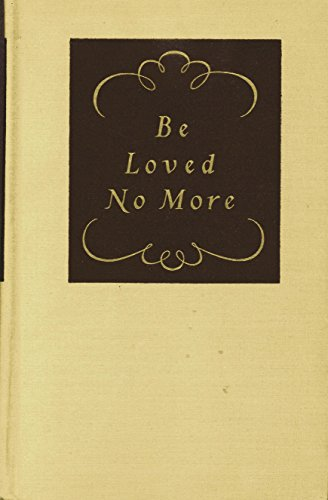 Be loved no more : the life and environment of Fanny Burney,