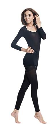 Soojun Women s Second Skin Thin Thermal Underwear Set Long Johns Sets f33d5e79a0b8