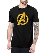 Mens Black Infinity Apparel Shirt