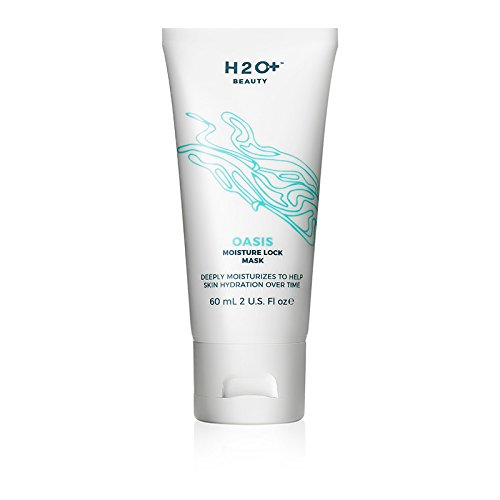 (Face Mask, Oasis Moisture Lock Mask by H2O+ Beauty, Water Based Moisturizer for Dry Skin, 2 Ounce)