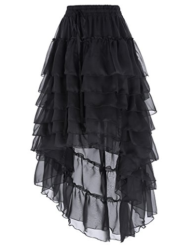 Bp227 Swing Summer Jupe Belle Vintage Steampunk Poque Gothic 1 Femme Beach Jupe Jupe qPnWTz