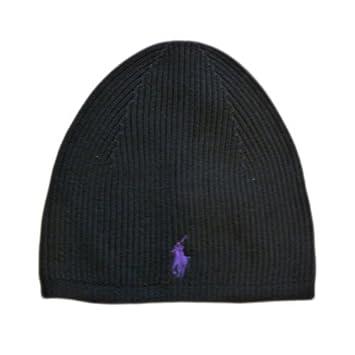 Bonnet ralph lauren noir skull cap  Amazon.fr  Vêtements et accessoires cf7c2d85bba