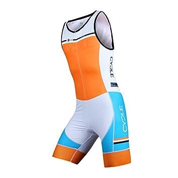 Cycle360 Traje triatlón (tritraje) de una Pieza competición ...