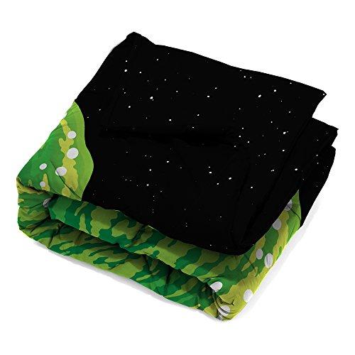 Rick & Morty ML9548 Twin/Full Comforter