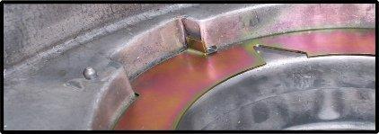 New Process Transfer Case Pump Wear Plate (Plate Wear)