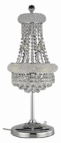 (Primo Collection 6-Light Chrome Fix with Clear Swarovski Strass Crystal)
