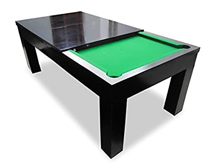 stoa paris solid wood pool dining table with accessories green rh amazon in pool table kitchen island kitchen table converts pool table