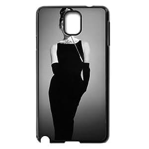 AUDREY HEPBURN New Printed Case for Samsung Galaxy Note 3 N9000, Unique Design AUDREY HEPBURN Case