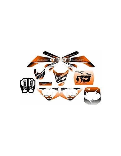 Kit deco CRF50 RS Orange - Dirt bike/Pit bike/Mini Moto Rshot