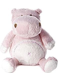 Bebé infante peluche animal de felpa juguete rosa hipopótamo para recién nacido bebé niña
