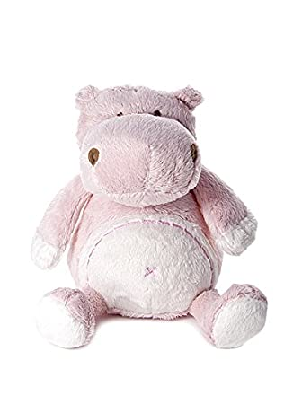 8a113361fbb Mousehouse Gifts Baby Girl Plush Hippo Stuffed Animal Soft Toy for Newborn  Baby Shower Christening Gift