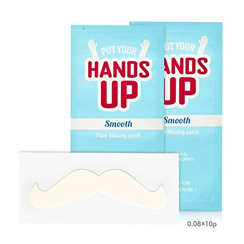 [ETUDE HOUSE] Put Your Hands Up Smooth FACE WAXING Patches 20pcs Facial Hair Remover