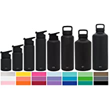 Simple Modern Summit Bottle Lids - Wide Mouth Flid Lid, Sports Chug Lid and Handle Hydro Drinking Lids - Fits all Vacuum Insulated Summit Water Flask Bottle Sizes