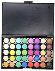 Minkissy Eyeshadow Palette Smoky Eyeshadow 40 Colors Multicolor Matte Pearly Eyeshadow Cosmetic for Girls Ladies Women