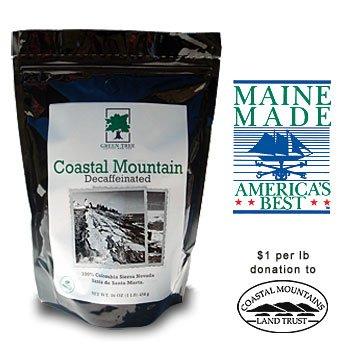 - Coastal Mountain Decaf (Drip Ground), 1 LB Bag