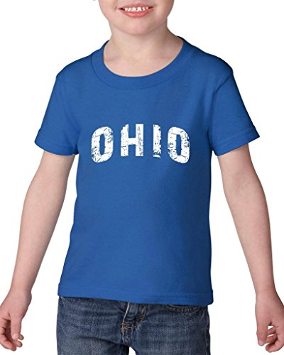 ARTIX Ohio Love Home My State USA Toddler Kids T-Shirt Tee Clothing 5T Royal Blue -