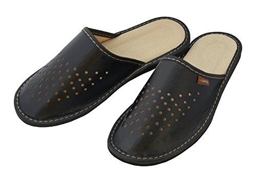 Flip Zapatillas Transpirables Cuero Colores Cómodas de Muchos Hombre Flops Mejor Verde Marrón Negro Real BeComfy Negro wBpcHy4Kq