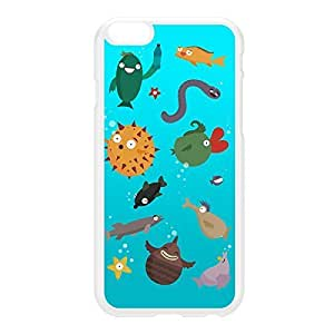 Aquarium White Hard Plastic Case for iphone 5c by Miki Mottes + FREE Crystal Clear Screen Protector