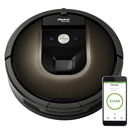 iRobot Roomba 980 Robot Vacuum- Wi-Fi Connected Mapping, Works with Alexa, Ideal for Pet Hair, Carpets, Hard Floors