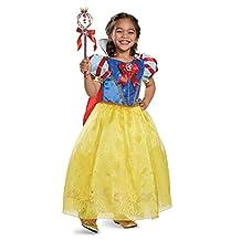 Disguise Costumes Prestige Disney Princess Snow White Costume, Small/4-6X