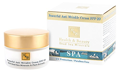 Health and Beauty Dead Sea Minerals Powerful Anti wrinkle Cream SPF-20