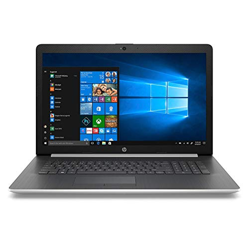 2019 HP 17.3″ HD+ Laptop Computer, 8th Gen Intel Quad-Core i7-8550U up to 4.0GHz, 16GB DDR4 RAM, 1TB SSD + 16GB Intel Optane, DVDRW, WiFi, Bluetooth 4.2, USB 3.1, HDMI, Silver, Windows 10 Home