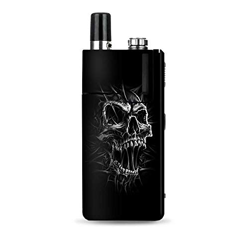 (IT'S A SKIN Decal Vinyl Wrap Compatible with Lost Vape Orion Q/Skull Evil Stretch Slash Screaming)
