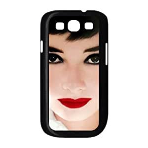Audrey Hepburn Custom Cover Case with Hard Shell Protection for Samsung Galaxy S3 I9300 Case lxa#325831
