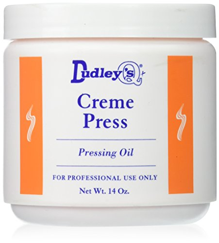 - Dudley's Creme Press Pressing Oil for Unisex, 14 Ounce