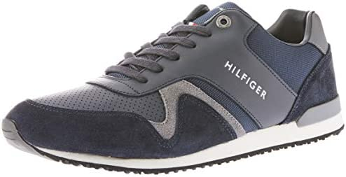 Iconic Leather Textile Runners Trainers