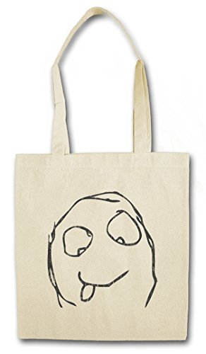 23ff4499ca97f HAPPY DERP MEME Hipster Bag Beutel Stofftasche Einkaufstasche