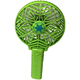 ddLUCK Handfan Rechargeable Fans Portable Handheld Mini Fan Battery Operated Cooling Fan Electric Personal Fans Foldable Fans with 18650 Battery for Home and Travel(Green)