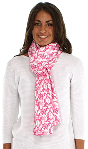 bSoft Cambridge Damask Pink Scarf
