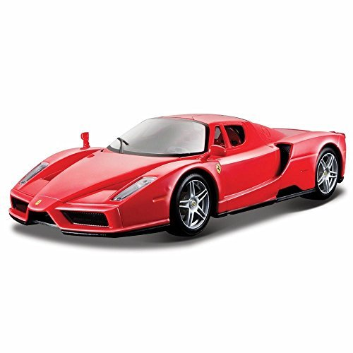 Bburago Enzo Ferrari, Red 26006 - 1/24 scale Diecast Model Toy Car ()