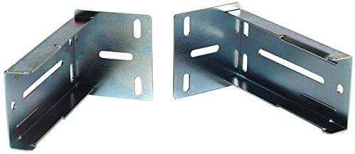 RV Designer H326, Metal Drawer Slide Socket, 1-1/2 inch, 2 Per Pack, Cabinet Hardware
