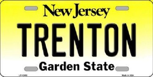 trenton-new-jersey-background-novelty-metal-license-plate