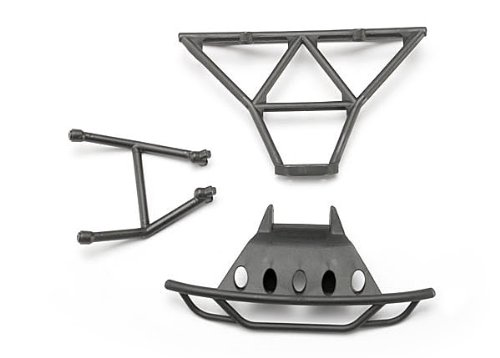 Traxxas 7035 Front and Rear Bumpers, 1/16 Slash