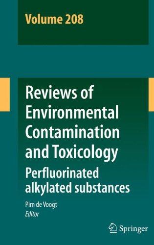 Reviews of Environmental Contamination and Toxicology Volume 208: Perfluorinated alkylated substances
