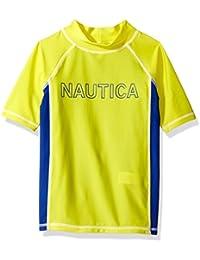 Nautica Boys' Colorblock Rashguard
