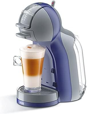Krups KP1206 Nescafe Dolce Gusto Mini Me - Cafetera monodosis, color violeta y gris