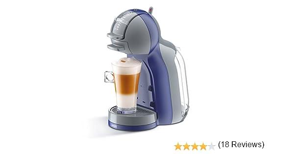 Krups KP1206 Nescafe Dolce Gusto Mini Me - Cafetera monodosis, color violeta y gris: Amazon.es: Hogar