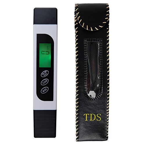 adilon Water Quality Tester,LED Display, Water Quality TDS Tester, EC Meter and Thermometer 3-in-1, Accurate Professional TDS Range 0-9999ppm by adilon
