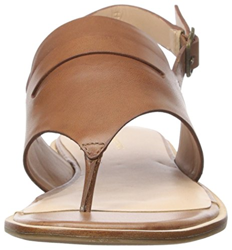 Gh Bass & Co. Vrouwen Maddie Platte Sandaal Cognac