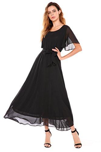 long black modest dresses - 8